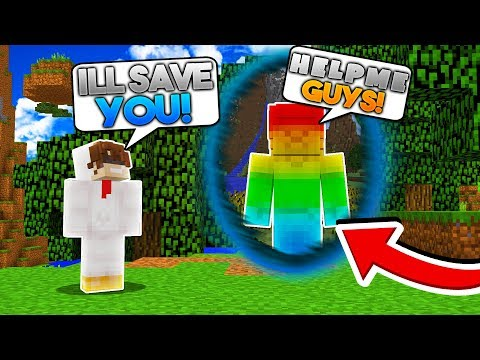 Minecraft Steve Saga - THE PORTAL TO RAINBOW STEVE