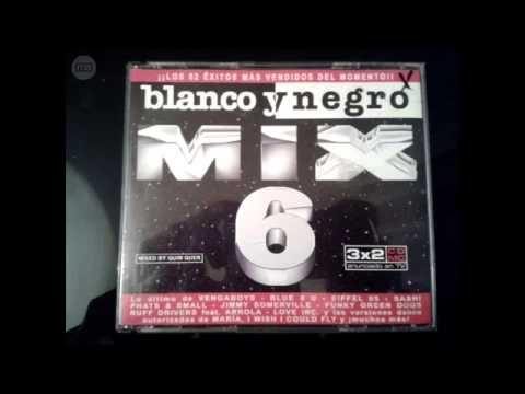 Blanco y negro mix 6   3'Cds
