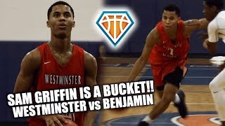 Sam Griffin is THE BEST POINT GUARD in South Florida!! | Westminster vs Benjamin Highlights