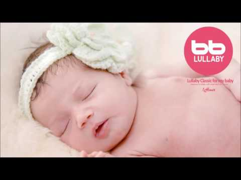 ★ 1HOUR★ Well Known Classical +Sound Track Lullaby For My Baby (Orgel+Rain sound)-Prenatal music