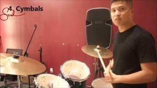Học trống - Thành phần của một bộ trống- SOUL Music Academy