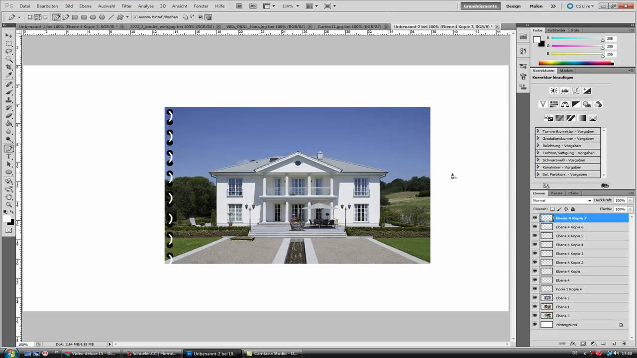 Photoshop Tutorial: Buch erstellen - YouTube