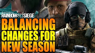 Rainbow Six Siege - In Depth: BALANCING CHANGES FOR NEW SEASON - SHIFTING TIDES
