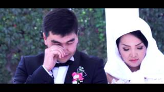 Красивая свадьба, красивое, трогательное видео в Бишкеке SameDayEdit