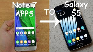 Apps do Note 7 no Galaxy S5 (Stock Rom) (Snapdragon)