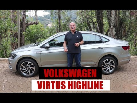 Volkswagen Virtus Highline 200 TSI - Teste do Emilio Camanzi