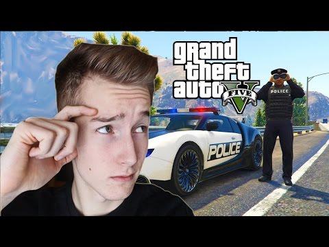 GTA V PRAWDZIWE ŻYCIE #5 - Problemy Z Policją!