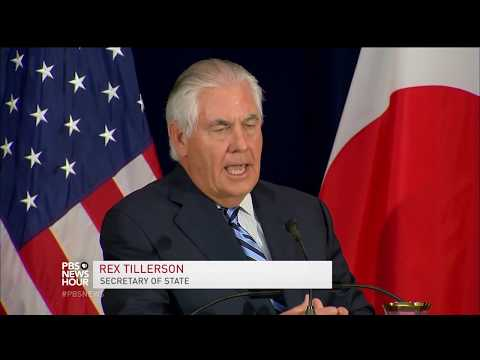 News Wrap: Military response to North Korea still an option, says Tillerson