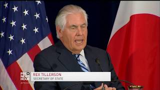 News Wrap: Military response to North Korea still an option, says Tillerson thumbnail