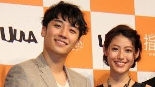 女優の瀧本美織さんが12月4日、東京都内で行われたソフトバンクモバイル...