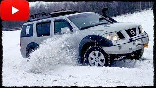 ► Гонка [Нива vs Nissan Pathfinder vs Patrol] off-road #2/3