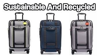 Combining Quality, Sustainability And Recycling | TUMI