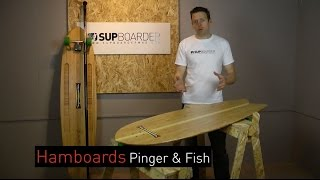Hamboards - Pinger And Fish Full Review For Land Paddling