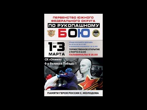 Первенство Южного федерального округа по рукопашному бою посвящённое памяти героя России С. Молодова