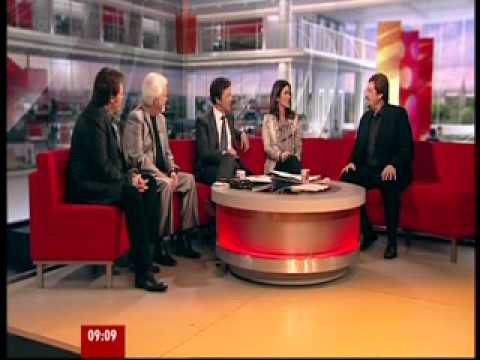 Osmond Brothers on  BBC Breakfast TV on 8th March, 2012