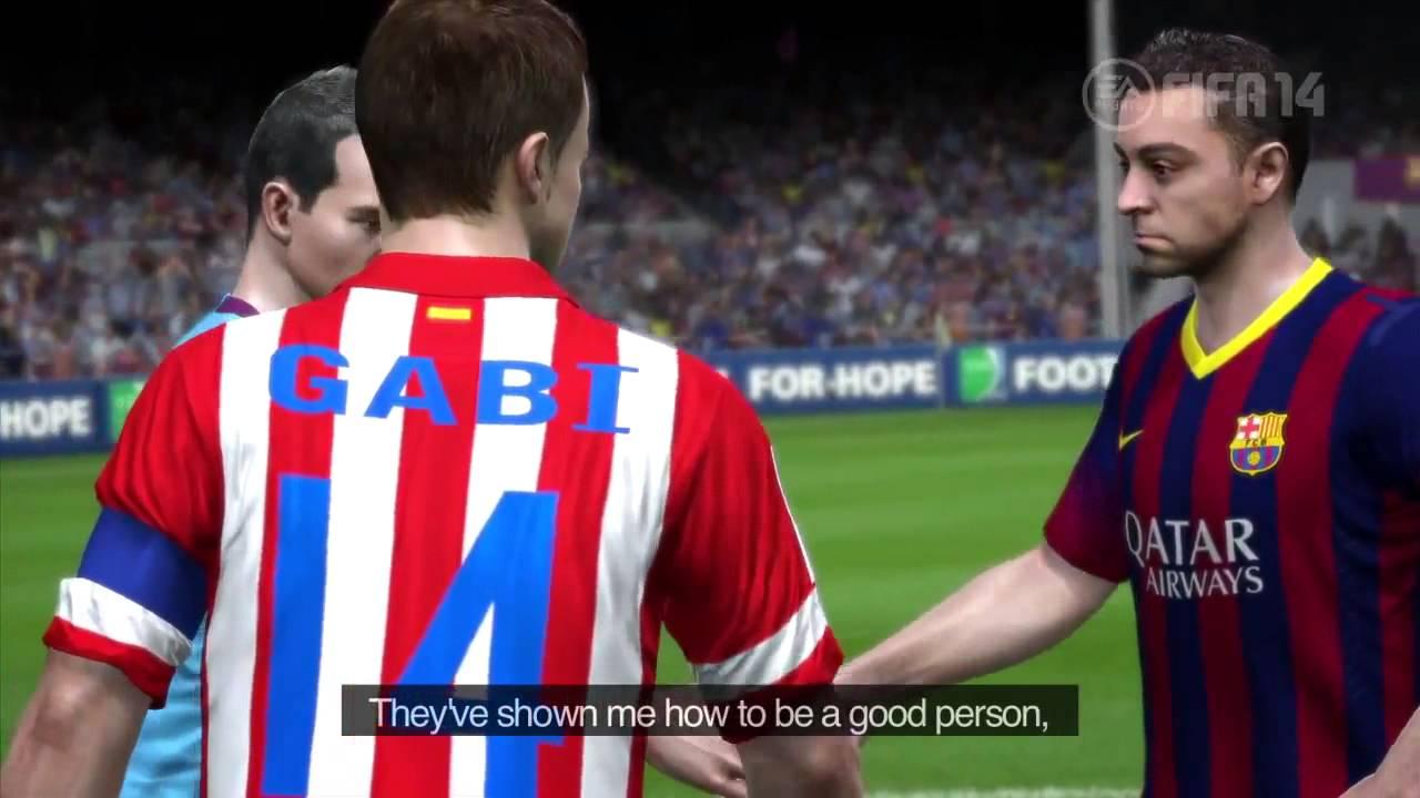 fifa 14 fc barcelona gameplay trailer  u3010hd u3011