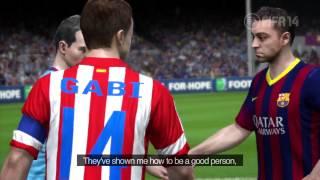 FIFA 14  FC Barcelona Gameplay Trailer 【HD】