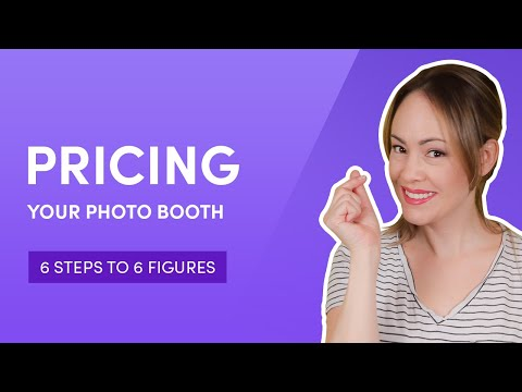 Pricing Your Photo Booth   6 Steps To 6 Figures   How To Make Money Starting A Photo Booth Business