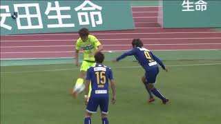 2018年6月10日(日)に行われた明治安田生命J2リーグ 第18節 山形vs千...