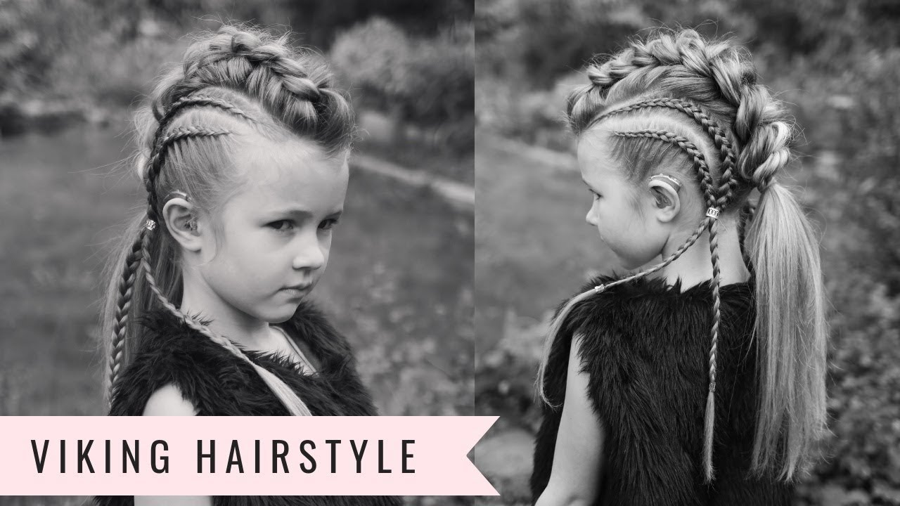 viking hairstyle! baylee the brave by sweethearts hair