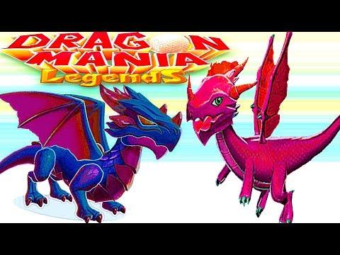 Легенды Дракономании Игра про драконов Андроид Видео для детей .Выращивай драконов и побеждай