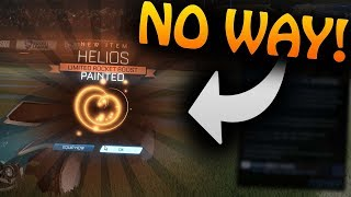 "*OMG* Getting Black Helios From An RLCS Drop! | Rocket League Fan Rewards Drop! New ""Clear"" Boost!"
