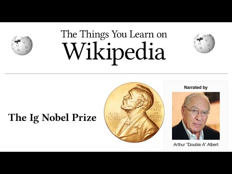The Things You Learn on Wikipedia: The Ig Nobel Prize