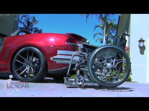 NEW robotic wheelchair lift for cars changes the game forever