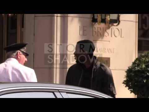James Brown film actor Chadwick Boseman in Paris