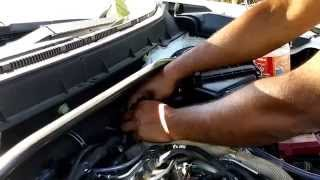Peugeot 4007 Siphoning or Draining Fuel