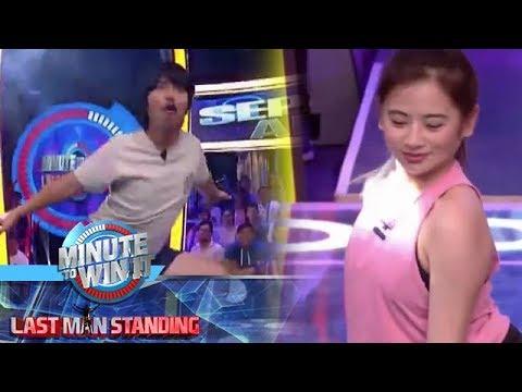 Minute To Win It: Magawa kaya ni Empoy ang split challenge sa kanya ni Ella