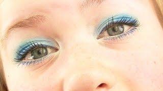 ice blue makeup tutorial