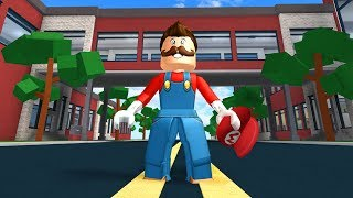 HOW TO BE MARIO IN ROBLOXIAN HIGHSCHOOL!!