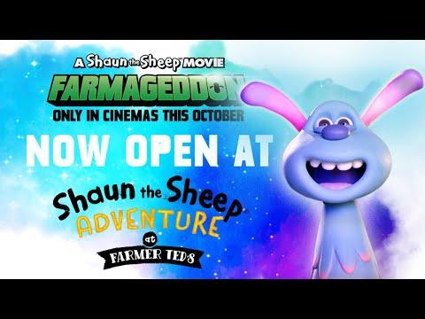 Giant Shaun and Lu-La Crop Circle Maze! Shaun the Sheep Movie: Farmageddon