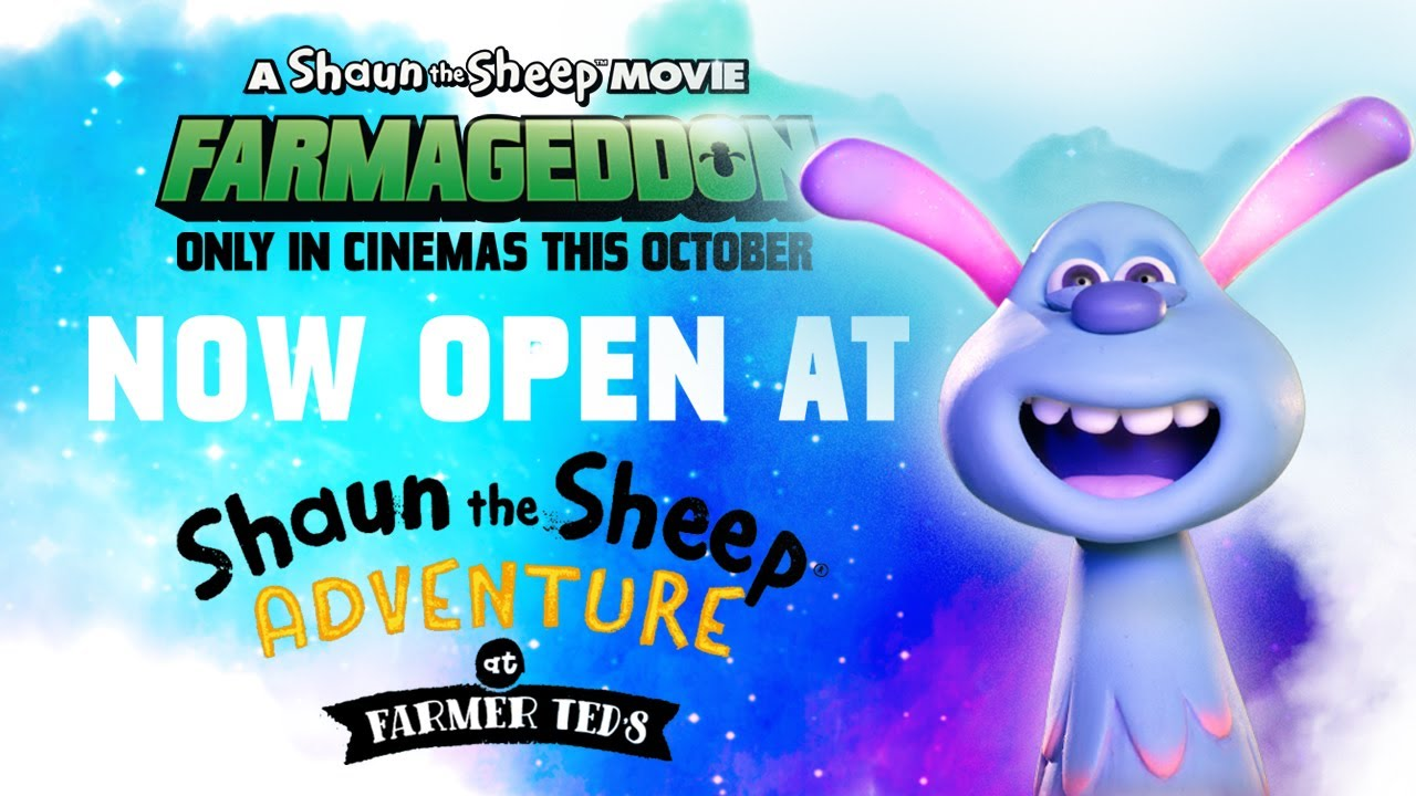 Giant Shaun and Lu-La Crop Circle Maze! Shaun the Sheep Movie: Farmageddon