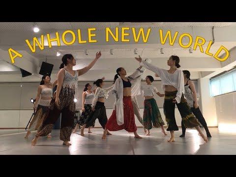 [G.NI DANCE COMPANY] A Whole New World (Aladdin OST) - Mena Massoud, Naomi Scott Choreography.MIA