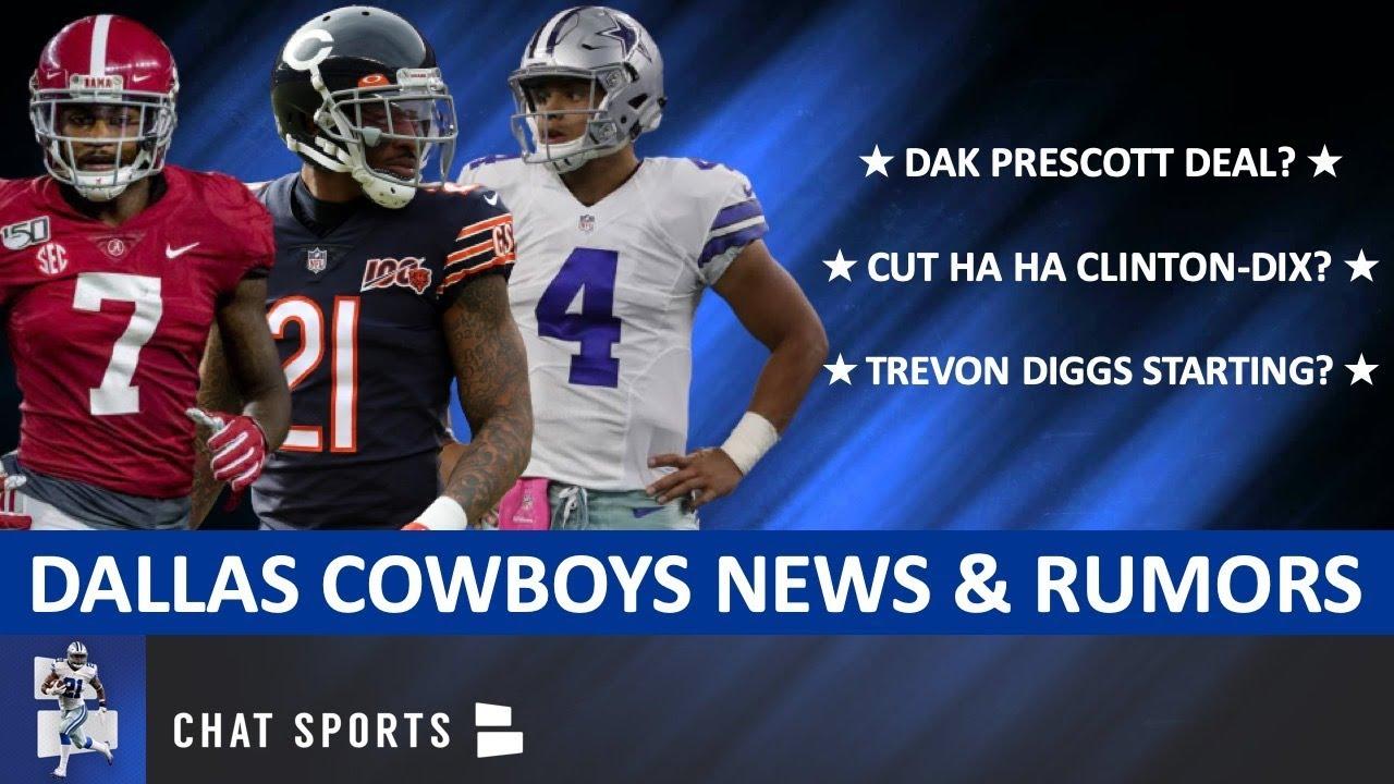 Cowboys Rumors On Dak Prescott Deal? Trevon Diggs Starting? Cut Ha Ha Clinton-Dix? + Kai Forbath Cut