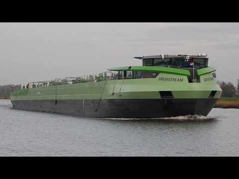 'GREENSTREAM' Spotted in a Dutch Canal - #513NL
