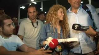 Shakira came to Istanbul FUNNY