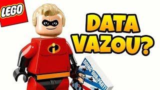 LEGO OS INCRÍVEIS - VAZOU DATA DE LANÇAMENTO? (E um presentinho que Ganhei) thumbnail