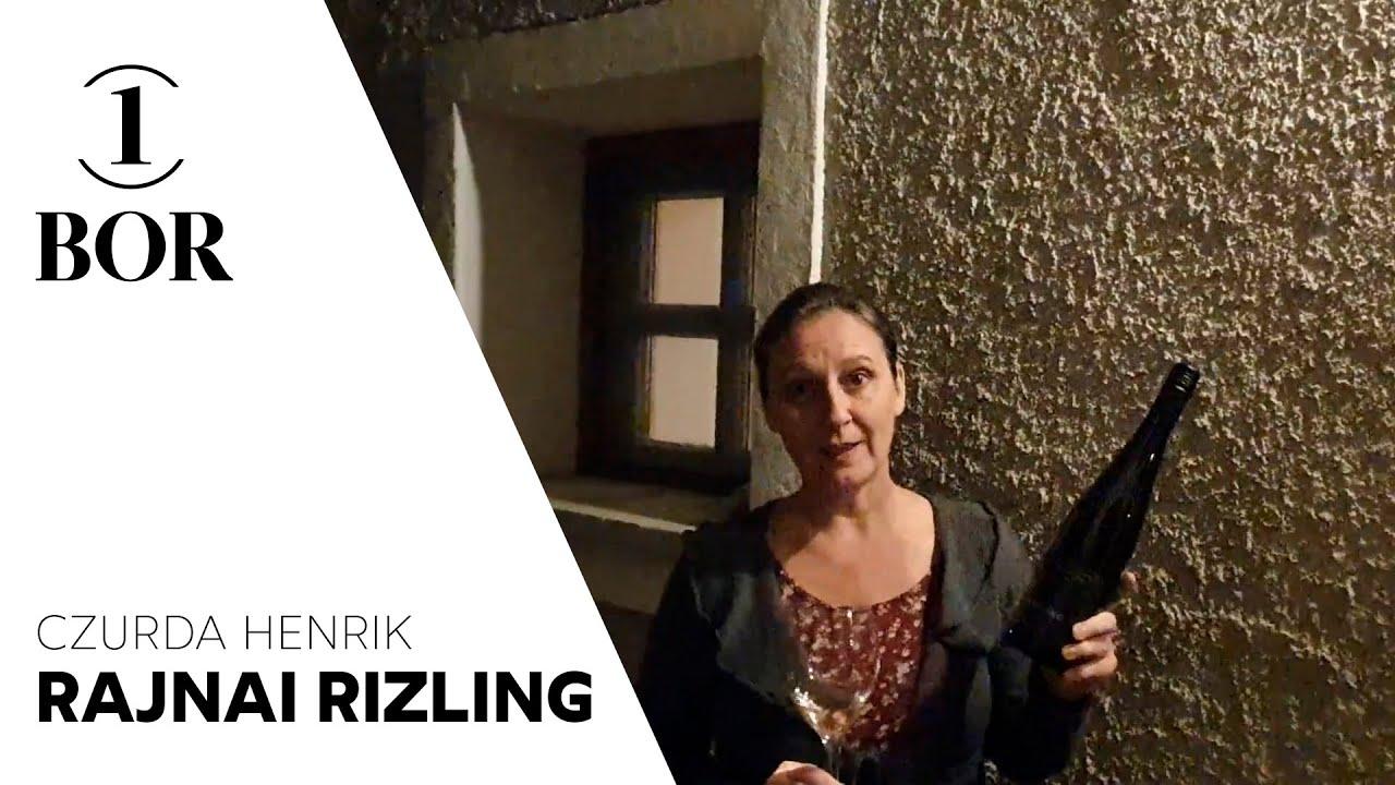 Szabó Edit, Borsmenta Magazin: Czurda Henrik Szőlőskertje - Rajnai Rizling 2019