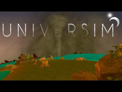 The Universim – MOTHER NATURE STRIKES AGAIN! – The Quest for Water – Universim Gameplay Pt 2