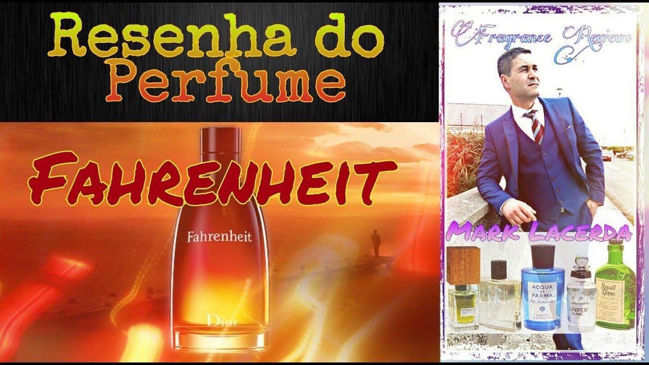 Resenha do Perfume Fahrenheit da casa Christian Dior????????????