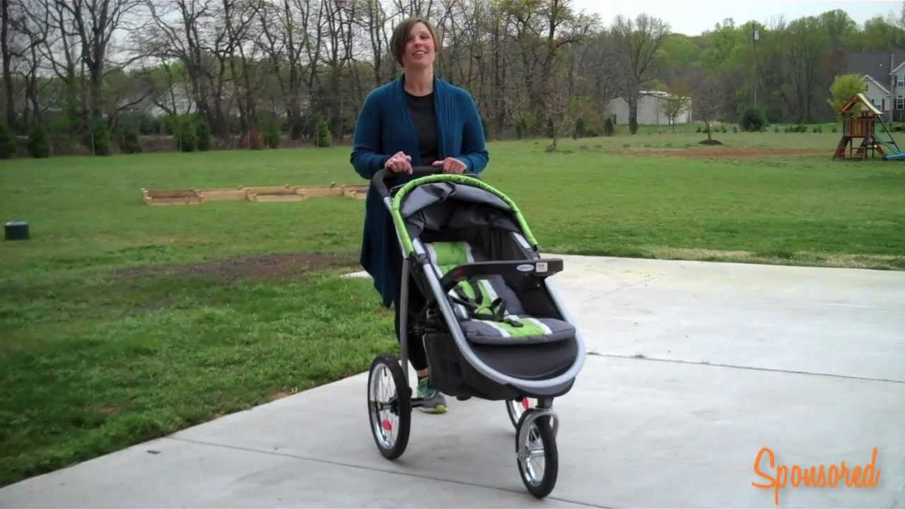 Jogging Stroller How To Use Graco Jogger Stroller With Click Connect Review