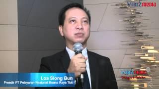 Pelayaran Nasional Buana Raya Emiten Pertama 2013,Loa Siong Bun, Vibiznews, 14 Jan 2013