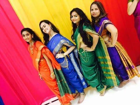 Kavita Zaveri DIY Maharashtrian Saree