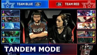 Tandem Mode Mixed Team Show Match (ft. Rookie, Bunny FuFuu, Bebe) | Day 2 2018 LoL All Star Event