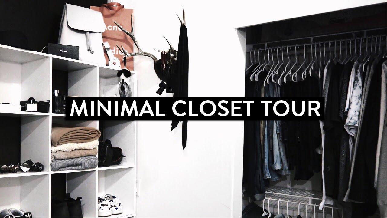 Mens Closet closet tour (mens) - youtube