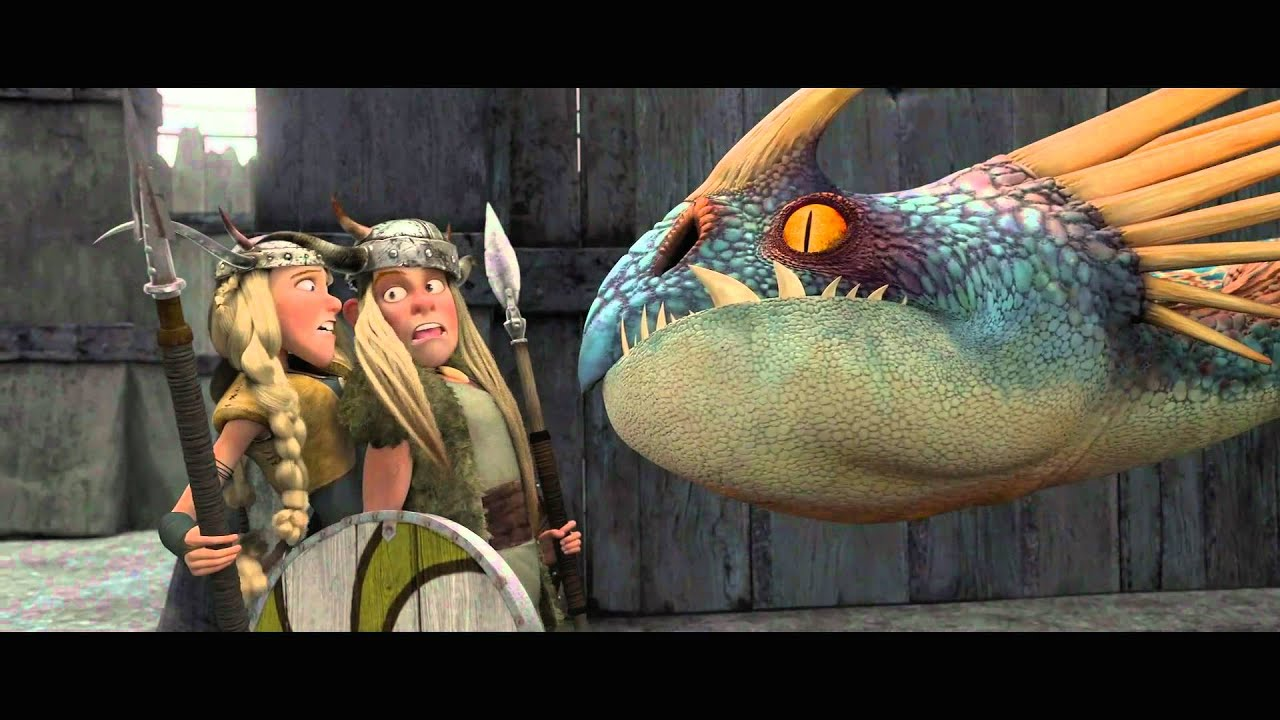 HOW TO TRAIN YOUR DRAGON  Training Day 2 Official Clip  YouTube