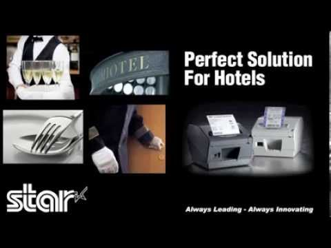 Star TSP800II - The Perfect Solution For Hotels